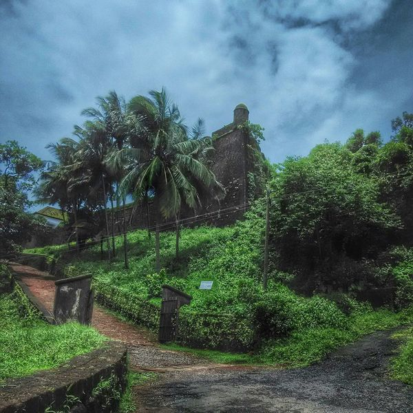 Amazingly Beautiful Resi Magos fort in Goa. Travel Photography Tourist Destination Historical Landmark Scenicbeauty