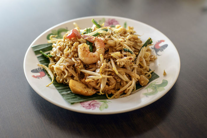Penang char Koay Teow Char Koay Teow Char Kway Teow Close-up Food Food And Drink Freshness Fried Noodles Indoors  No People Noodle Penang Food Plate Prawn Ready-to-eat Table