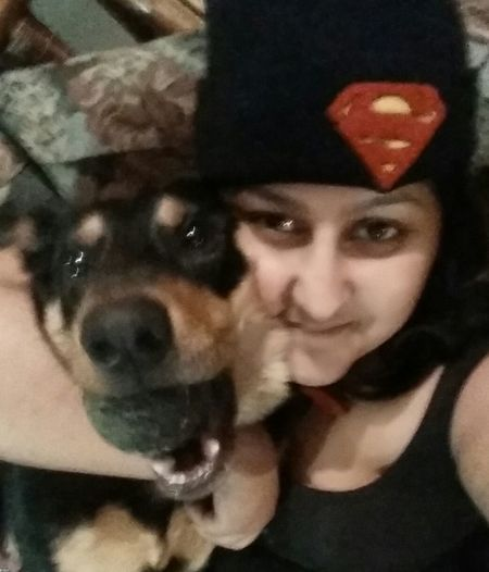 Me and my Super Dog ♡ Pets Superdog Havenofearsuperdogishere Puppylove 😘😍🐶