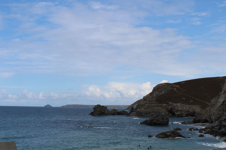 Coastline St Agnes Beauty In Nature Nature No People Sea Tranquility Water