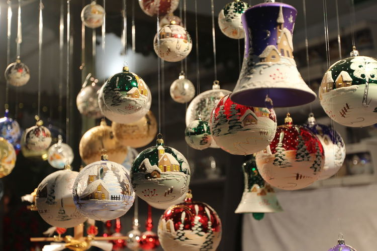 Hanging Retail  For Sale No People Retail Display Art And Craft Choice Decoration Market Large Group Of Objects Variation Close-up Creativity Indoors  Focus On Foreground Still Life Shopping Small Business Craft Collection Antique Xmas New Year Christmas