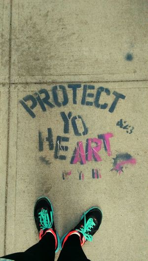 Protectyourheart Hello World Check This Out NYC
