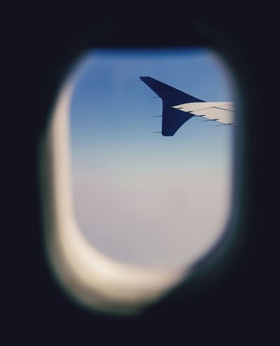 Airplane wing out of the window Airplane Aerospace Industry Flying Commercial Airplane Air Vehicle Cursor Sky Close-up Aircraft Wing Jet Engine Airplane Wing Private Airplane Corporate Jet First Class Airplane Mechanic Fighter Plane