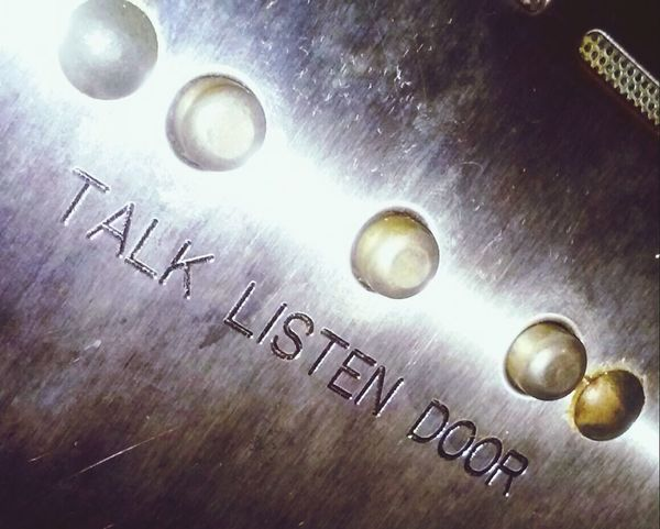 Talk Listen Door Buzzer