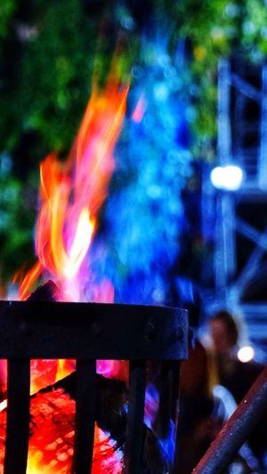 増上寺 薪能 Zoujouji Noh Flame Burning Japanese Culture