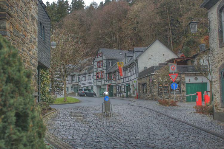 Myhdrworld Architecture Buildings Monschau Eifel Germany Streetphotography City View