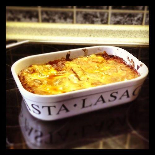 Mittagessen Lasagne
