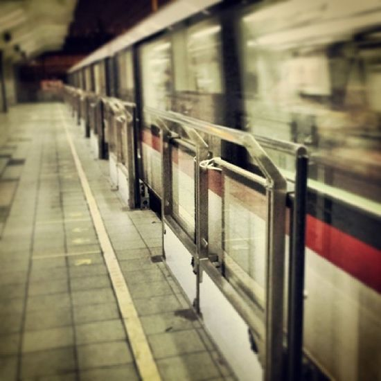 Vintage Transportation Train Subway PassingBy Moments Speed Blur