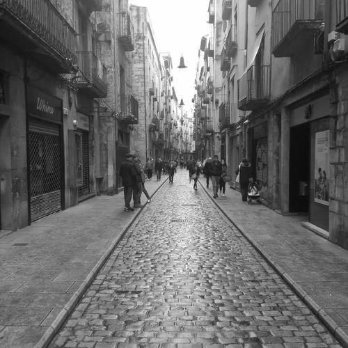Calles Medieval de Girona Street Gerona Black White Blackandwhite Black & White Blackandwhite Photography Black And White Black&white Black And White Photography Myfoto Myphoto