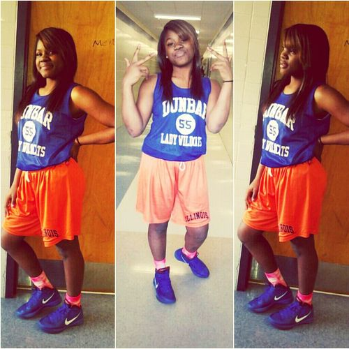 After Basketball Practice :) (not My Real Number Tho)