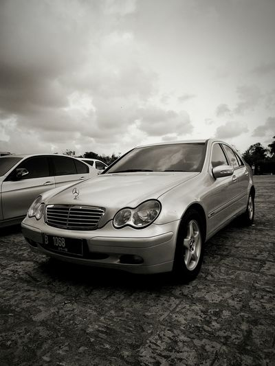Thank you my mercyman for accompany me every single time. Car Outdoors Sky Mercedes-Benz AMG Lifestyles Cloud - Sky