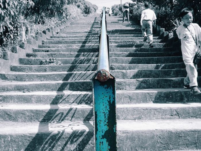 Stairs Blackandwhite