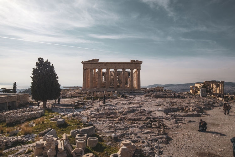 Acropolis Athens Greece Athens, Greece Acropolis Architecture History The Past Built Structure Ancient Sky Cloud - Sky Ancient Civilization Architectural Column Travel Destinations Old Ruin Nature Building Exterior Archaeology Travel Ruined Tourism City Plant Old No People Outdoors