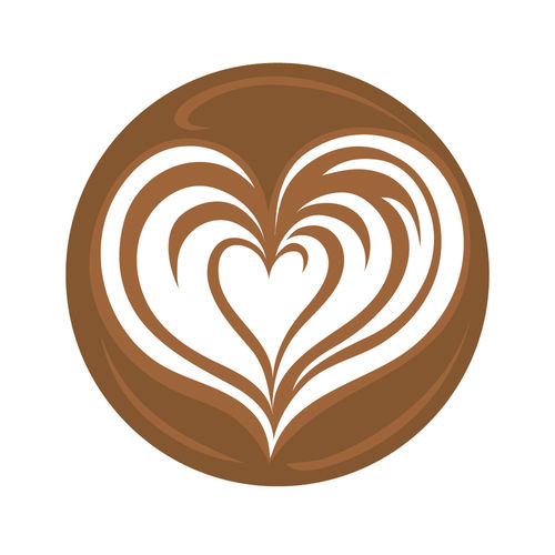 Latte Art Coffee Logo Icon Symbol America Art Background Backgrounds Beverage Brown Caffeine Cappuccino Caramel Coffee Design Dessert Drink Drinks Elégance Esspresso Foam Heart Hot Latte Liquid Love Milk Smooth Tasting