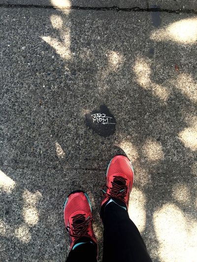 Jazz mom. Capitol Hill Sneakers Sidewalk Discoveries