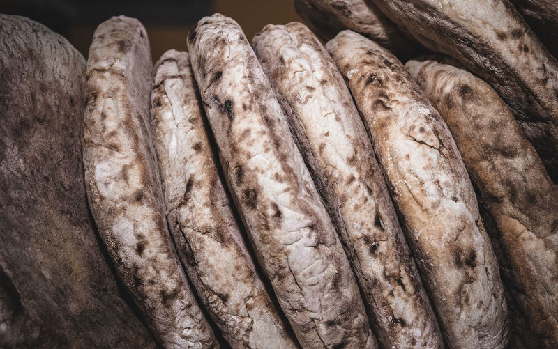 Close-up of breads