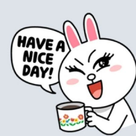 These stickers from the NaverLine app is amazing. LineApp Cony LineWorldwide