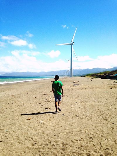 Wind above my wings Beach Pagudpud, Ilocos Norte Windmill