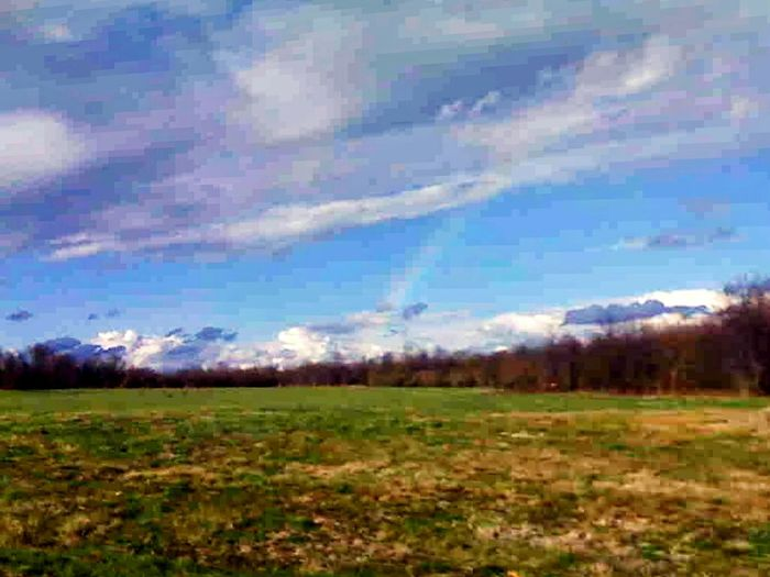 The Great Outdoors With Adobe Rainbow In The Sunny Sky Skyporn Cloudporn Rainbow My Quirky Style Bucks County Pennsylvania USA