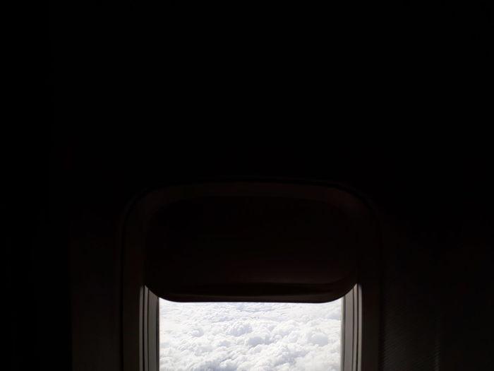 Window in sky