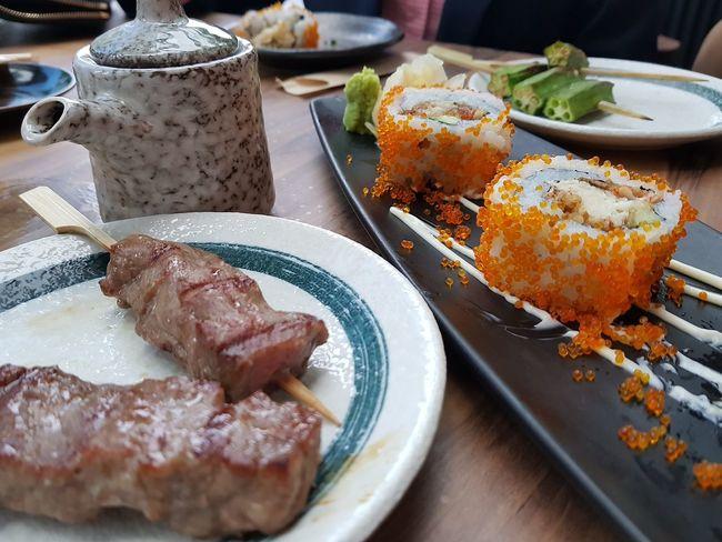 Bushido Singaporefoodphotography Lscscl_foodndrink_bushido Plate Meat Close-up Food And Drink