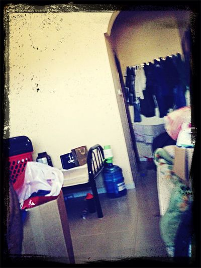Total mess!!!its my turn today Cleaning Tired!