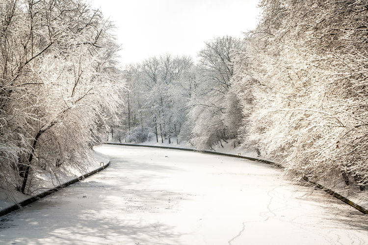 Winter in Berlin. Berlin Berlin Photography Berliner Ansichten Day Kanal Kreuzberg Neukölln Outdoors Panoramic Photography Schnee Schneelandschaft Snow Snow ❄ Sun White Color Winter Winter Wonderland Wintertime