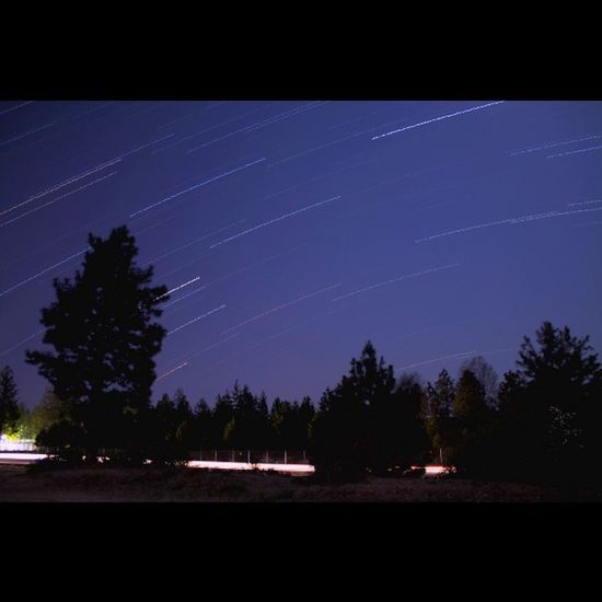 Here's the first attempt at star trails. There is too much light pollution where I live so I couldn't just expose it in one shot. So instead I stacked 149 30s exposures at f/3.5 and ISO at 200. Lots of fun! Visitbend Bend Longexposure Longexposureoftheday Longexpohunter New Night Nightexposure Nightphotography Love PNW Westcoast_exposures Follow Me Exploregon Starphotography Startrails Nightshooters Instagood Outdoors Getoutside Natgeo Shutterlive Theoutbound Tripdeltago