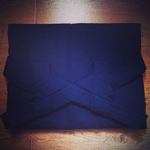 Vscocam art of hakama folding... Kendo Praxmakesperfect