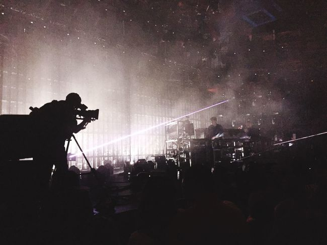 The Chemical Brothers at the Apple Music Festival last Night . In the Roundhouse Camden . Music Live Music Musician First Eyeem Photo