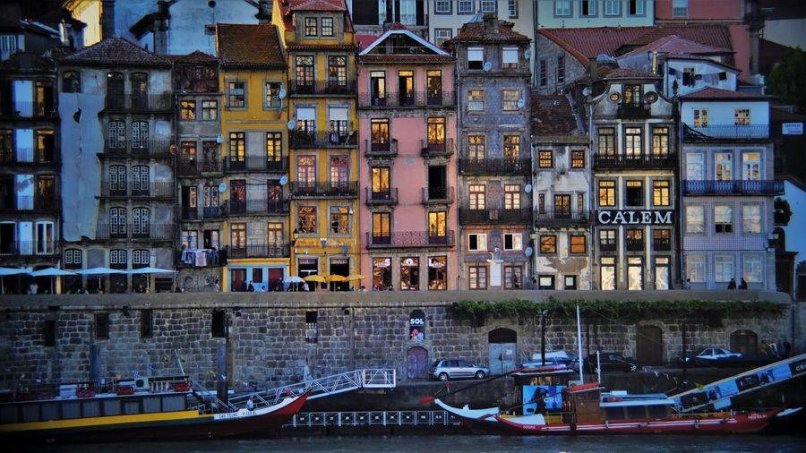 Riverside Architecture Building Exterior Built Structure City Day Douro  Douroriver Gaia Nautical Vessel No People Outdoors Porto River Riverside Water