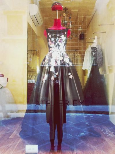 Imagine how could be... - Full Length Real People One Person Lifestyles Indoors  Standing Leisure Activity Store Window Day Marriage  Weddingdress Wedding Ateliereme Dress Princess Queen Dreaming Beauty Fashion
