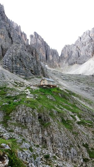 Dolomites, Italy EyeEmNewHere Rifugio Vicenza Mountains Trekking Mountain Range Landscape Rock Formation Geology Physical Geography Natural Landmark Cliff Rocky Mountains Natural Arch