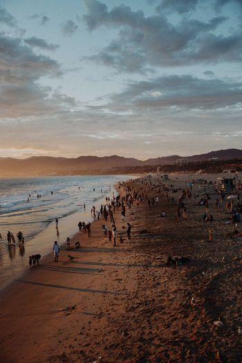 Sunset Sky Sand