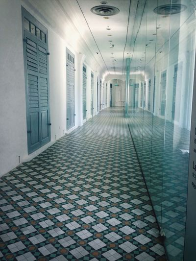 Mission Mystery Hallway Quiet