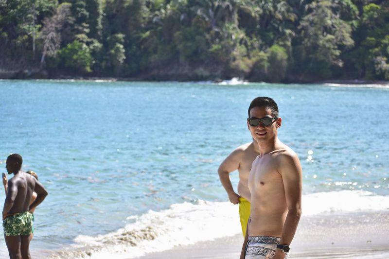 Beach day😎☀️ Costa Rica Manuel Antonio Beach Sea Outdoors