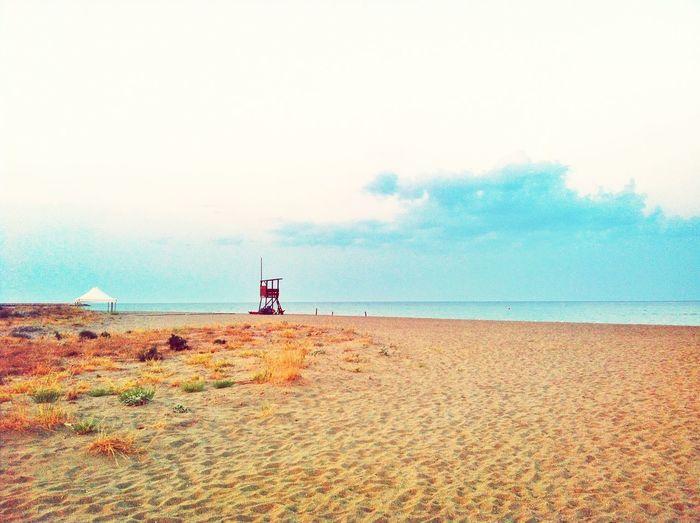 Landscape Summer Sunset Beach