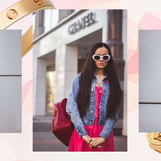 Fashion Stories Fashion District Style Chanel Fashion Photoshoot Beauty Gucci Backpack GUCCI White Sunglasses Pink Background Look Book Art Collage