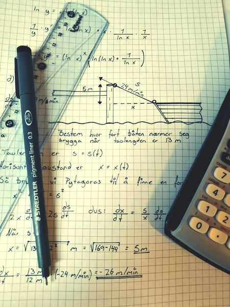 My exam is tomorrow and I do not feel ready. Wishmeluck Engineering Education Boat Calculus Mathematics Exam Derivatives