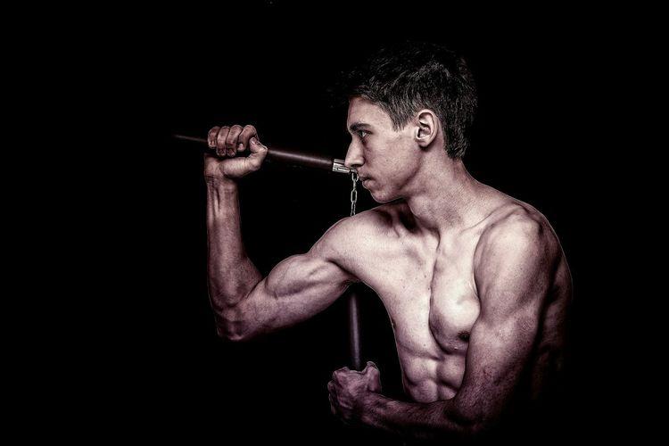 Sport Nunchaku Brucelee Fighter Unifight