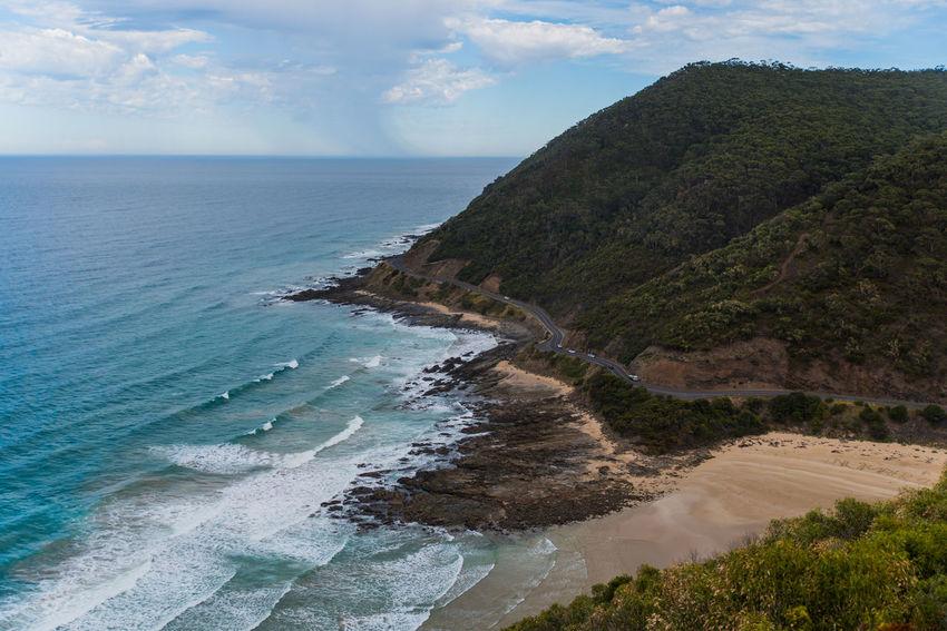 Australia, Nature Beach Beauty In Nature Day Horizon Horizon Over Water Land Nature No People Outdoors Scenics - Nature Sea Sky Tranquil Scene Water