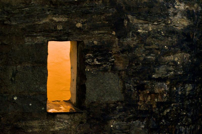 Full Frame Shot Of Abandoned Wall