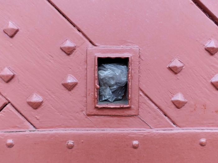 Full frame shot of closed window