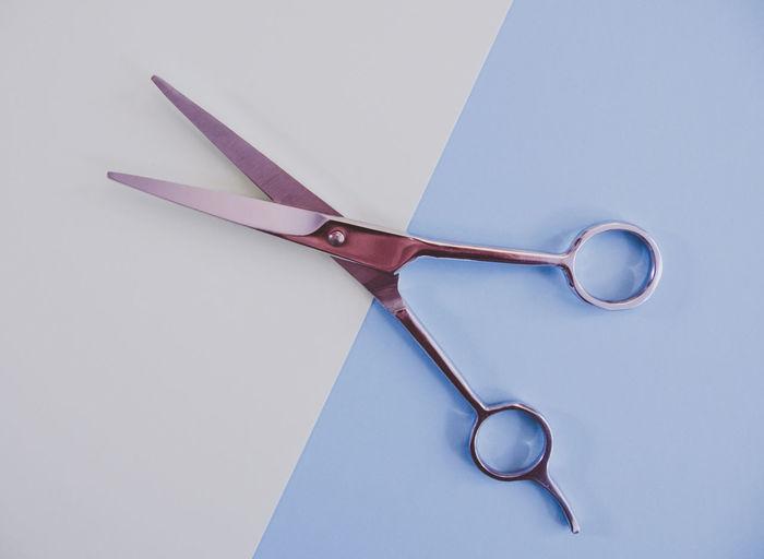 Close-Up Of Scissor