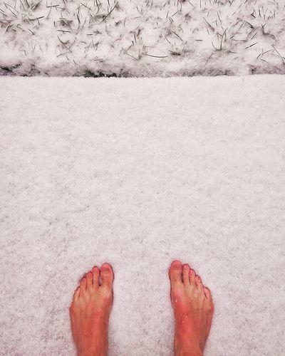 Happy Snow Feet
