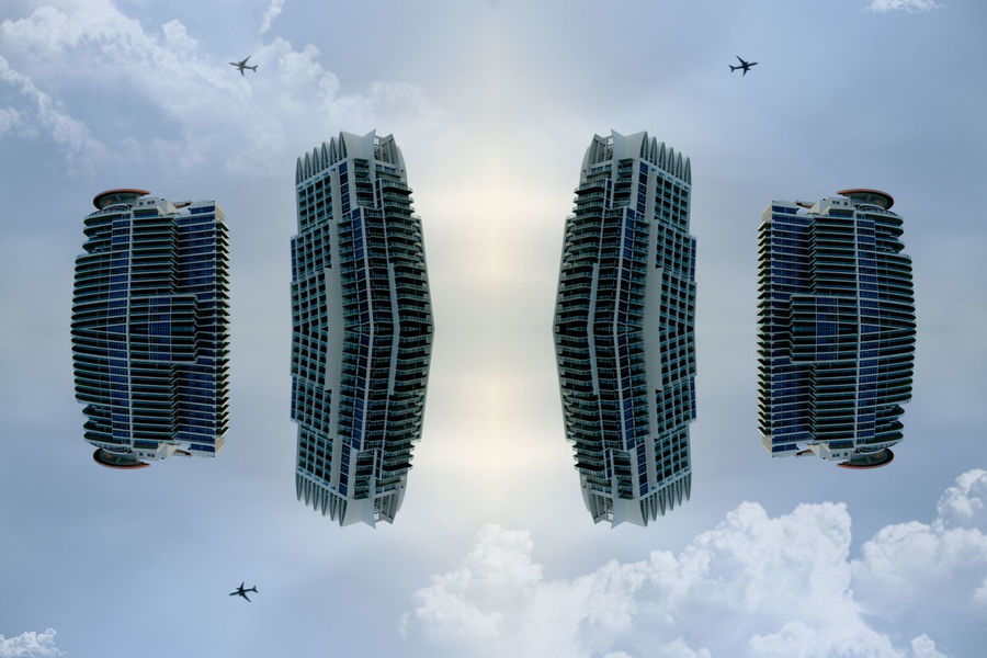 Abstract Abstract Photography Architecture Cloud Couple Cúpula Day Digital Art Floating Future Mirror No People Outdoors Past Sky Space Spacecraft Travel Trip
