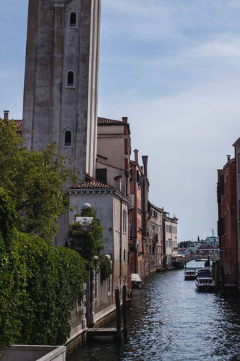 Architecture City Murano Arch Arch Windows Architectural Column Architecture Boat Bridge Building Building Exterior Canal Canals And Waterways City On Water Italy Nautical Vessel No People Outdoors Rickety Sailing Tower Venice Water