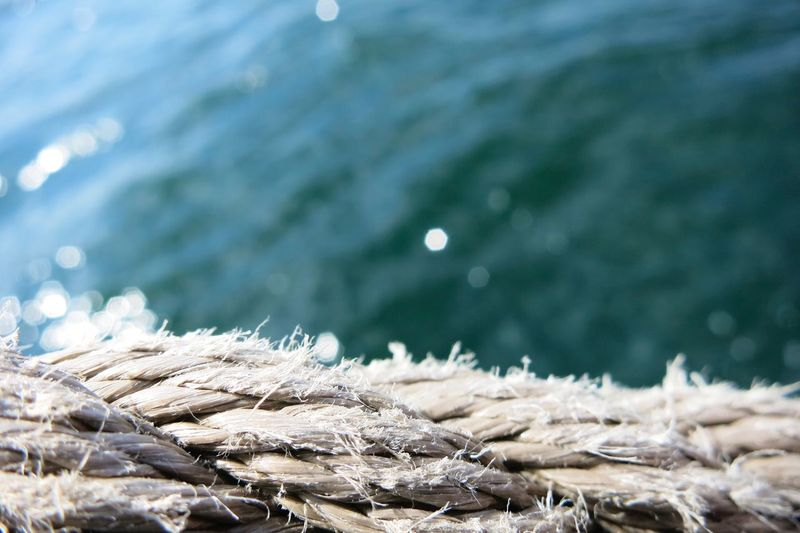 Sea Water Nature No People Outdoors Close-up Day Beauty In Nature Sailing Sailing Ship Nautical Vessel Low Angle View Rope