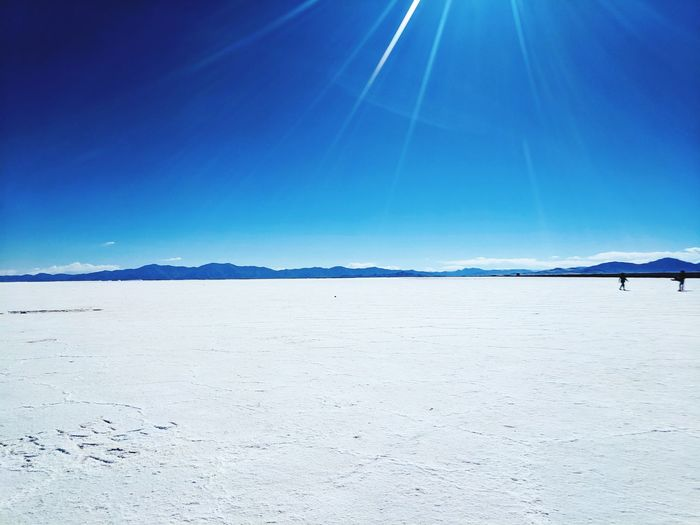 Argentina🇦🇷 Deserts Around The World Cordillera De Los Andes Salinas Grandes Beauté De La Nature Water Clear Sky Sea Salt - Mineral Blue Desert Salt Flat Summer