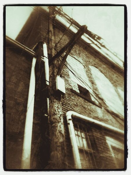 Beauty Of Decay Black And White Back Alleys Sepia